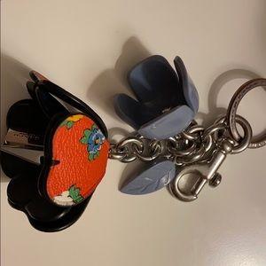 Coach keys holder